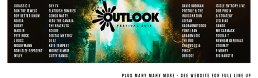 Outlook Festival 2015am 02.09.2015 @ Outlook Festival