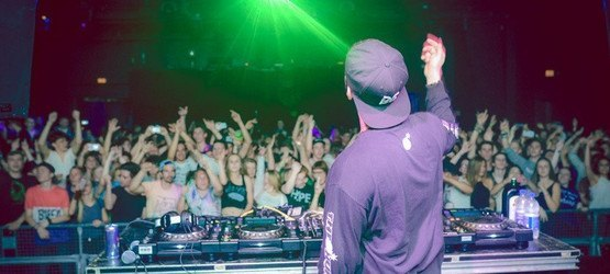 Foto von BEATTHROAT BIRTHDAY #4 w/ BORGORE & SIKDOPE am 24.05.2015 (Wuk)