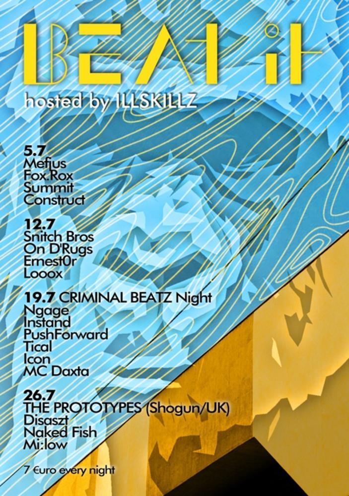 Beat It am Donnerstag, 12. Juli 2012, 23:00 Uhr(Flex)