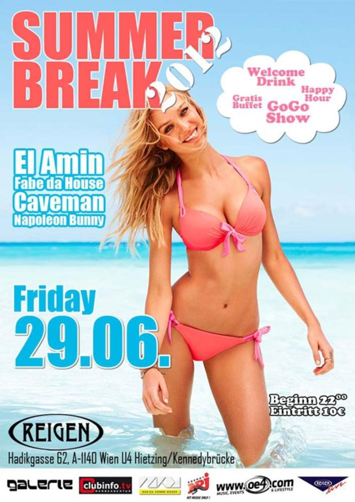 SUMMER BREAK 2012 am 29.06.2012 @ Reigen