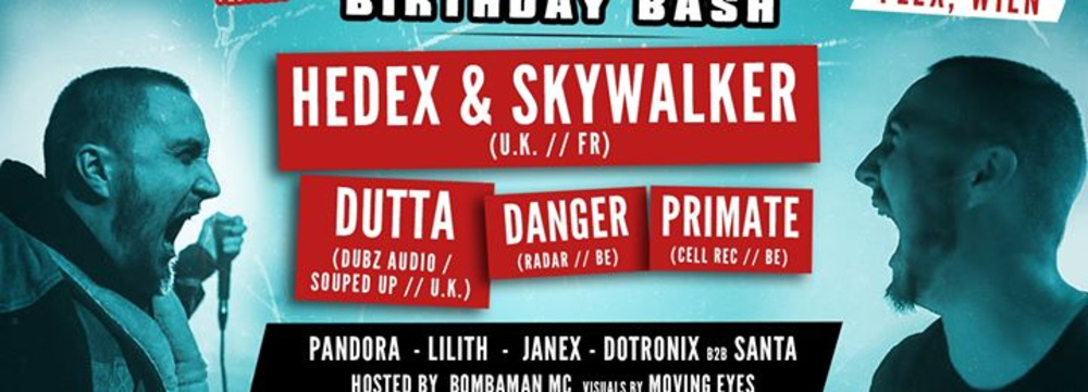 Switch! presents Mc Skywalker Birthday Bash am 04.10.2019 @ Flex