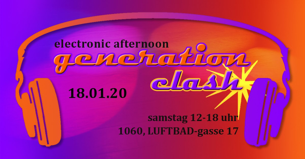 Electronic Afternoon - The Sound of different Generations am 18.01.2020 @ Luftbad