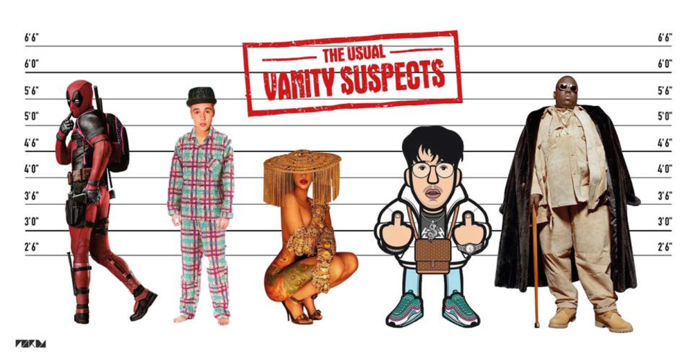 VANITY™ THE USUAL SUSPECTS am 08.02.2020 @ Passage