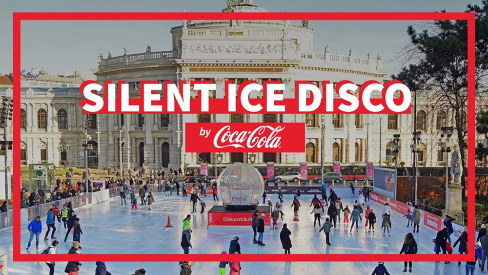 Silent Ice Disco by Coca-Cola am 29.02.2020 @ Rathausplatz