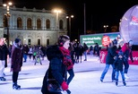 Foto von Silent Ice Disco by Coca-Cola am 29.02.2020 (Rathausplatz)